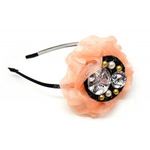 Pink Ribbon Headband-Pink