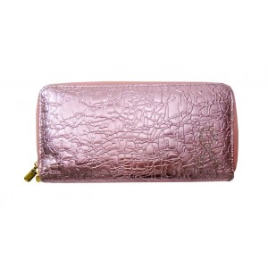 Shinny Pink Ribbon Wallet