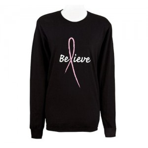 """Believe"" Long Sleeve T Shirt"