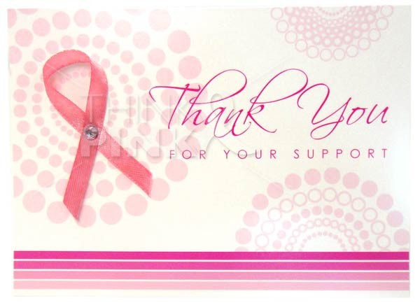 Breast Cancer Thank You cards | Thank You cards | Think ...