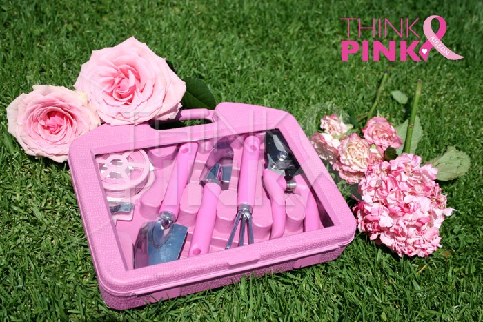 Pink Gardening Tools. Click Any Of The Images To Zoom In.