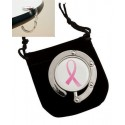 Pink Ribbon Purse Hanger