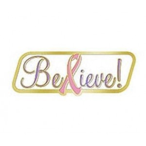 &quot;Believe!&quot; Lapel Pin