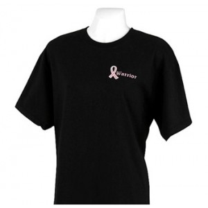 Pink Ribbon Warrior T Shirt