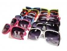 Pink Ribbon Sunglasses - 12 Assorted Styles and Colors