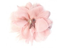 Breast Cancer Awareness Pink Flower Fashion Hair Clip & Pin