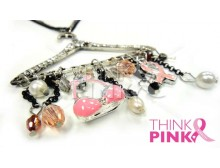 Two Strand Charm Hanger Necklace