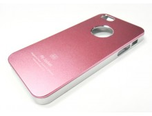 Pink Apple iPhone 5 Air Jacket Slim Hard Case