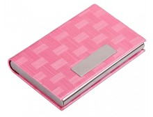 Pink Ribbon Business Card Holder