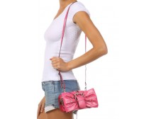 Pink Ribbon Mini Crossbody Bag