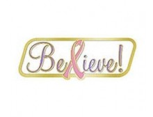 """Believe!"" Lapel Pin"