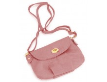 Pink Ribbon Small Shoulder Bag - Rose Pink