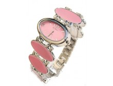 Pink Oval Watch