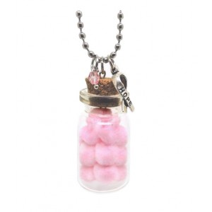 Pink Bottle of Hope Necklace