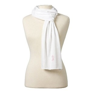 Sheer Jersey Cotton Scarf