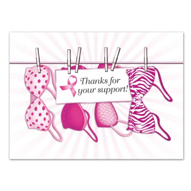 Breast Cancer Thank You cards | Thank You cards | Think Pink