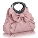 Pink Ribbon Bag - Blush Pink
