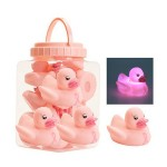 1 Dz. Pink Ribbon Flashing Ducks (12 pcs)
