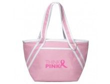 Think Pink Ribbon Pink Tote Bag