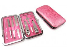 Pink 7-Piece Manicure Set