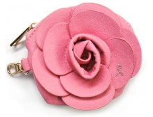 Pink Ribbon Pink Camellia Wallet/Coin Purse
